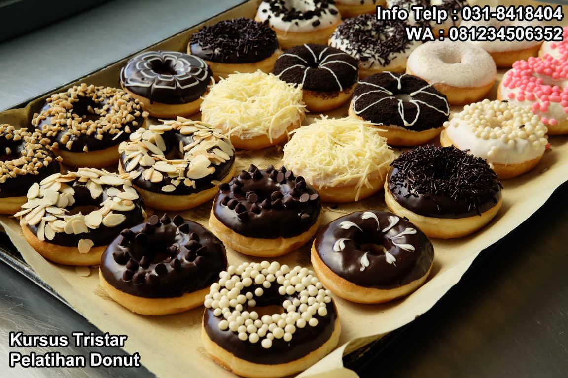 Kursus Aneka Donut